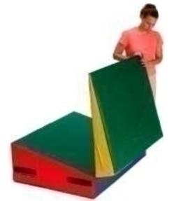 """Incline 5'x10'x22"""" Folding - 3020830 - Physical Education And Recreation Gym Mats Folding Mats 3020830"""