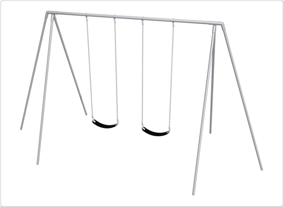 Primary Tripod Swing- 10 Foot; 2 Seat - 581-220 - Toys Swings & Slides 581-220