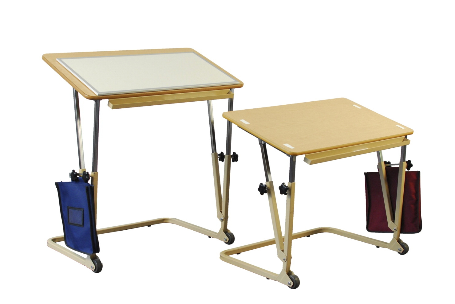 Alertdesk Pediatric Wheelchair Desk; Adjustable Height From 24-1/2 To 30-1/2 Inches; Angled Top Adjusts Up To 45 Degrees - 1577483 - Endurance Sports Wheelchair Racing 1577483