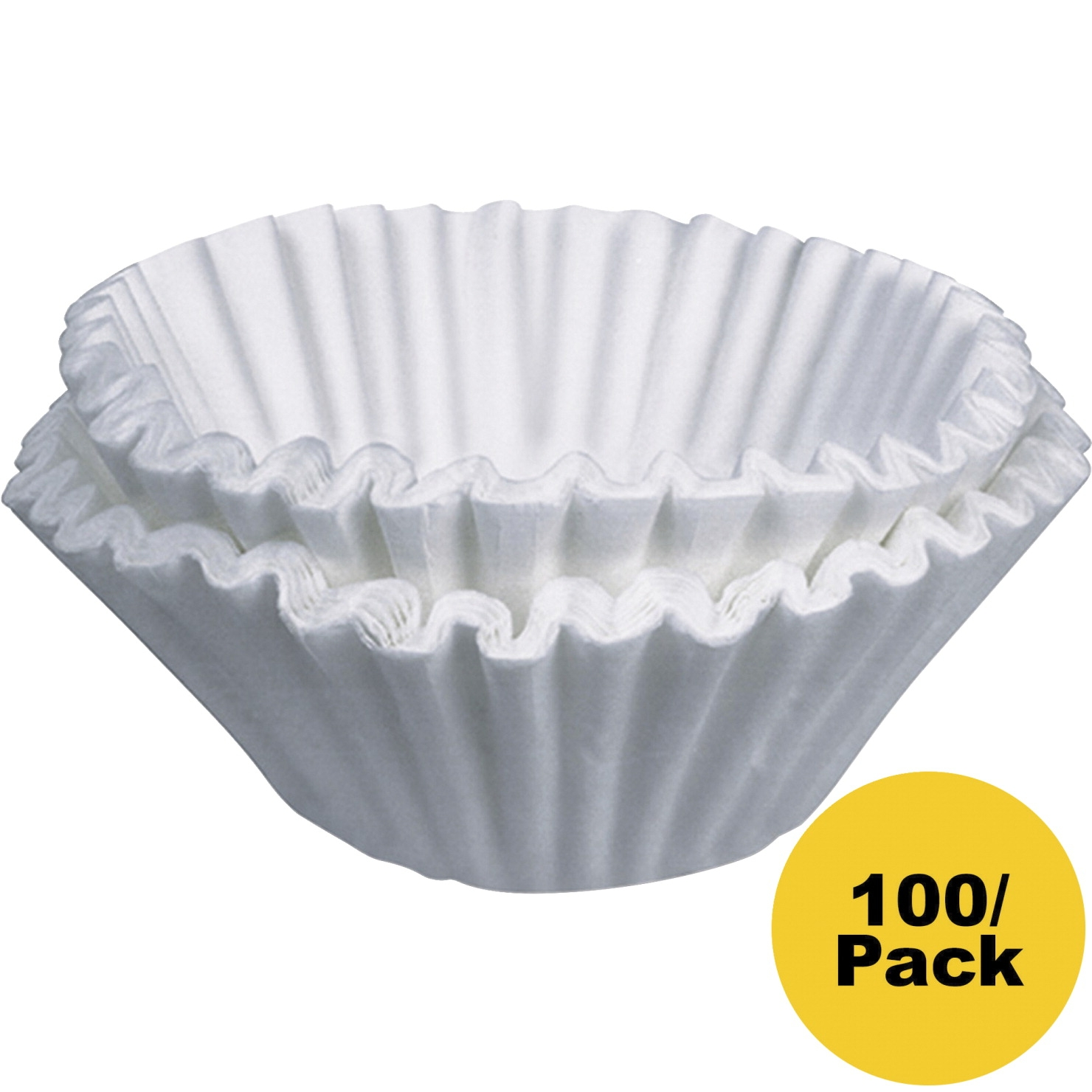 Bunn-o-matic Home Brewer Coffee Filter; 2-3/4 X 3 In; White; Pack Of 100 - 1056241 - Facilities Management Facility Supplies Machines Appliances Kitchen Appliances 1056241