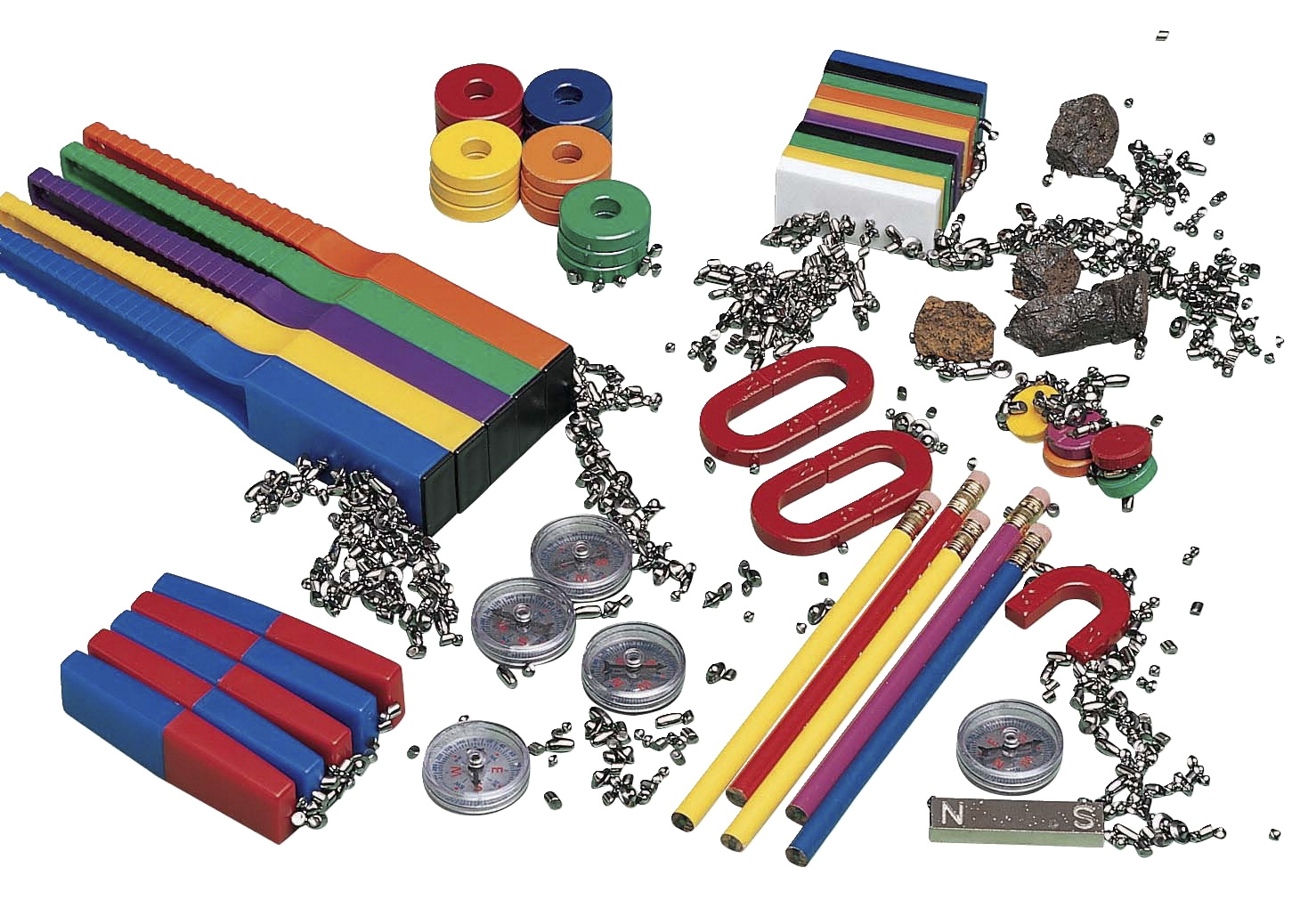 Childcraft Advanced Magnet Kit - 274435 - Instructional Materials Resources Science Activities Equipment Physical Science Projects Books 274435