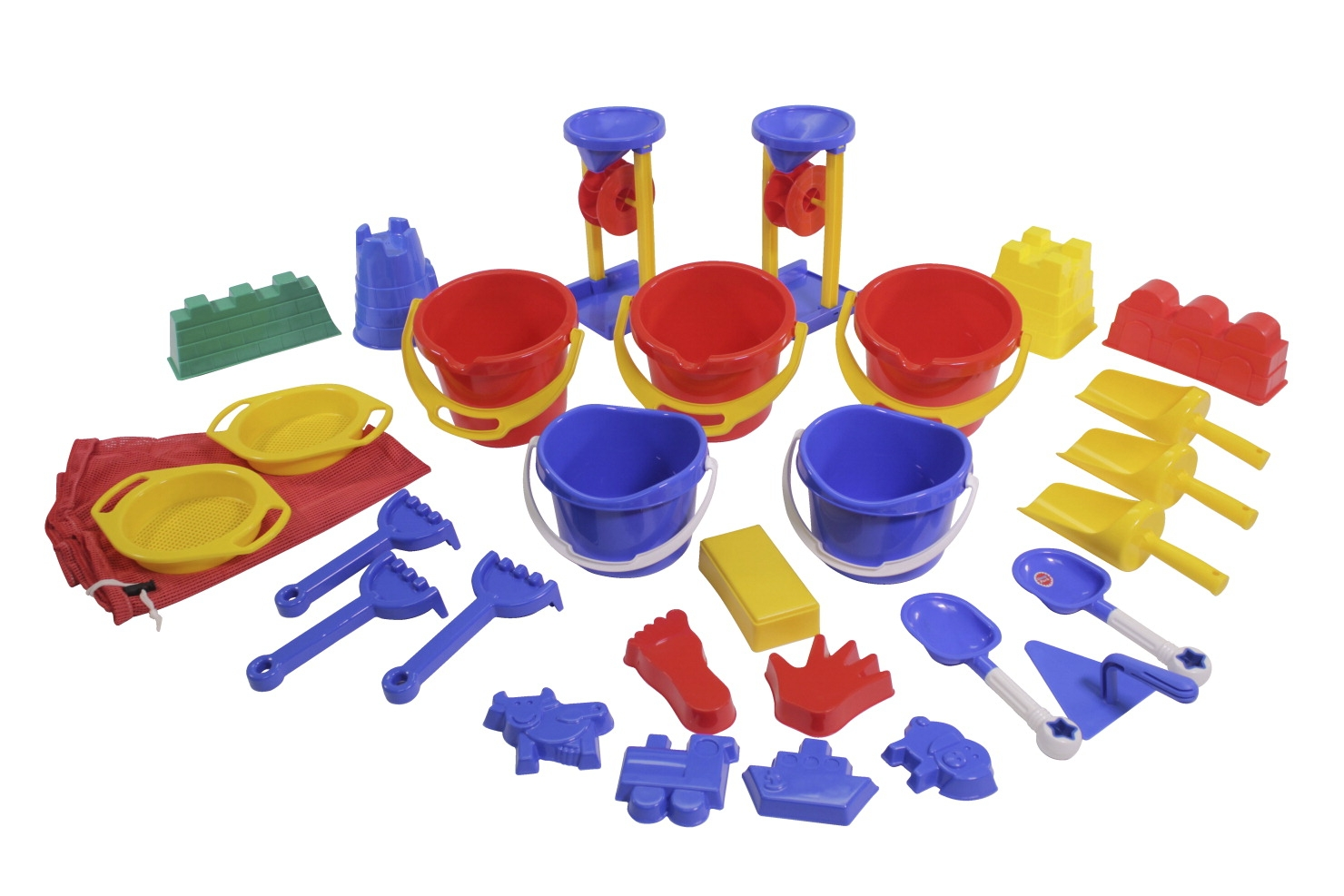 Toys Beach & Sand Toys - 259560 - Childcraft Sand Activity Set 259560