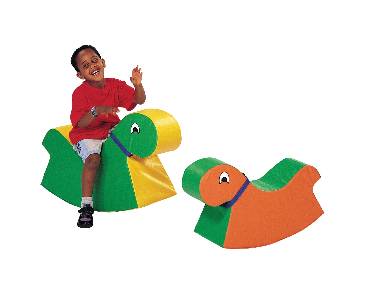 Children's Factory Big Rocky Activity Seat; Green/yellow - 1427827 - Fitness Steppers And Climbers 1427827