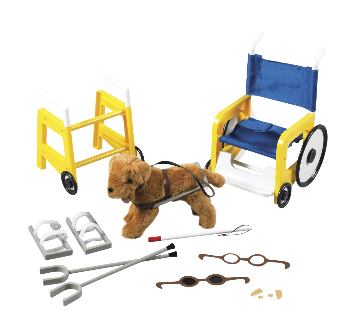 Children's Factory Special Needs Equipment Set; Set Of 8 - 1427632 - Special Needs Positioning Mobility Rolls And Wedges 1427632