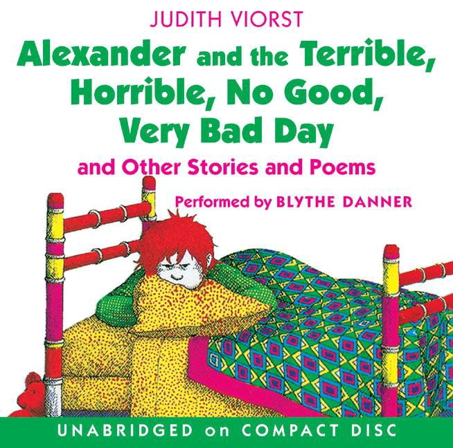 Classroom Library Alexander And The Terrible; Horrible; No Good; Very Bad Day; Read-along Kit - 1575095 - Instructional Materials Resources Science Activities Equipment Physical Science Projects Books 1575095