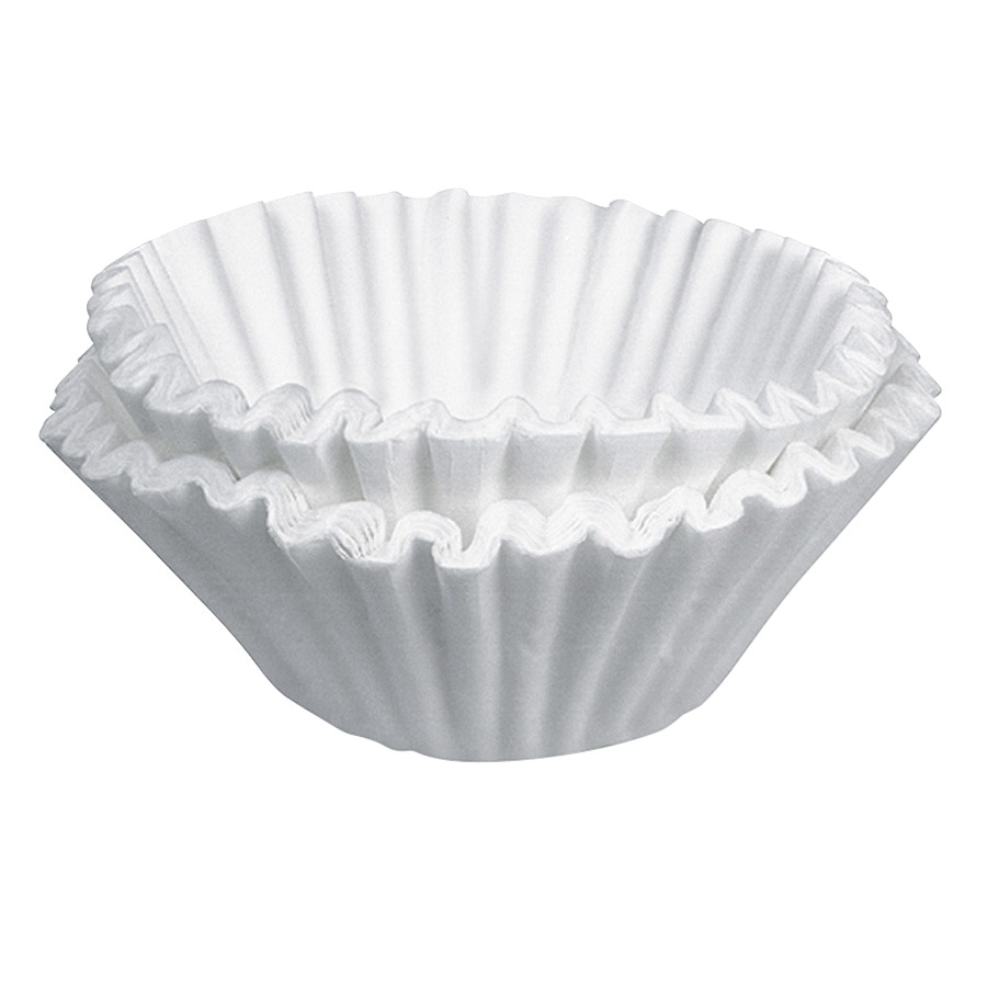 Coffeepro Coffee Filter; 10-12 Cup; Paper; White; Pack Of 200 - 1334432 - Facilities Management Facility Supplies Machines Appliances Kitchen Appliances 1334432