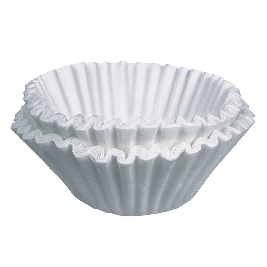 Coffeepro Commercial Basket Style Coffee Filter; 12 Cup; Paper; White; Pack Of 250 - 1334420 - Facilities Management Facility Supplies Machines Appliances Kitchen Appliances 1334420