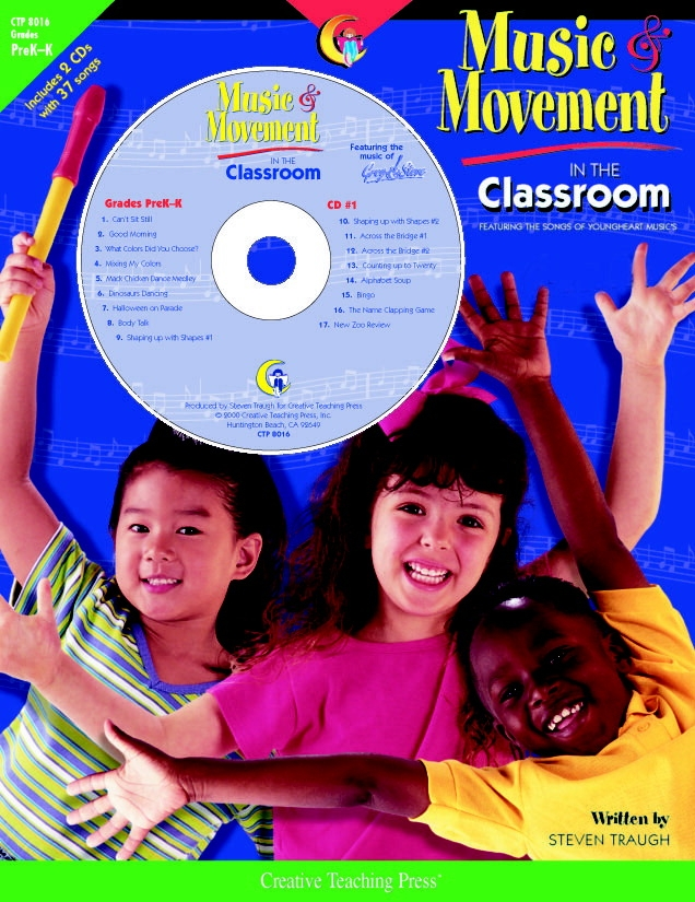 Toys Books & Cds - 084714 - Creative Teaching Press Fun Music And Movement Classroom Book With Cd 084714