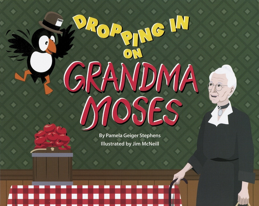 Crystal Productions Dropping In On Grandma Moses Book Pam Stephens And Jim Mcneill - 1306685 - Special Needs Children Special Needs Special Needs Sensory Resources Books 1306685