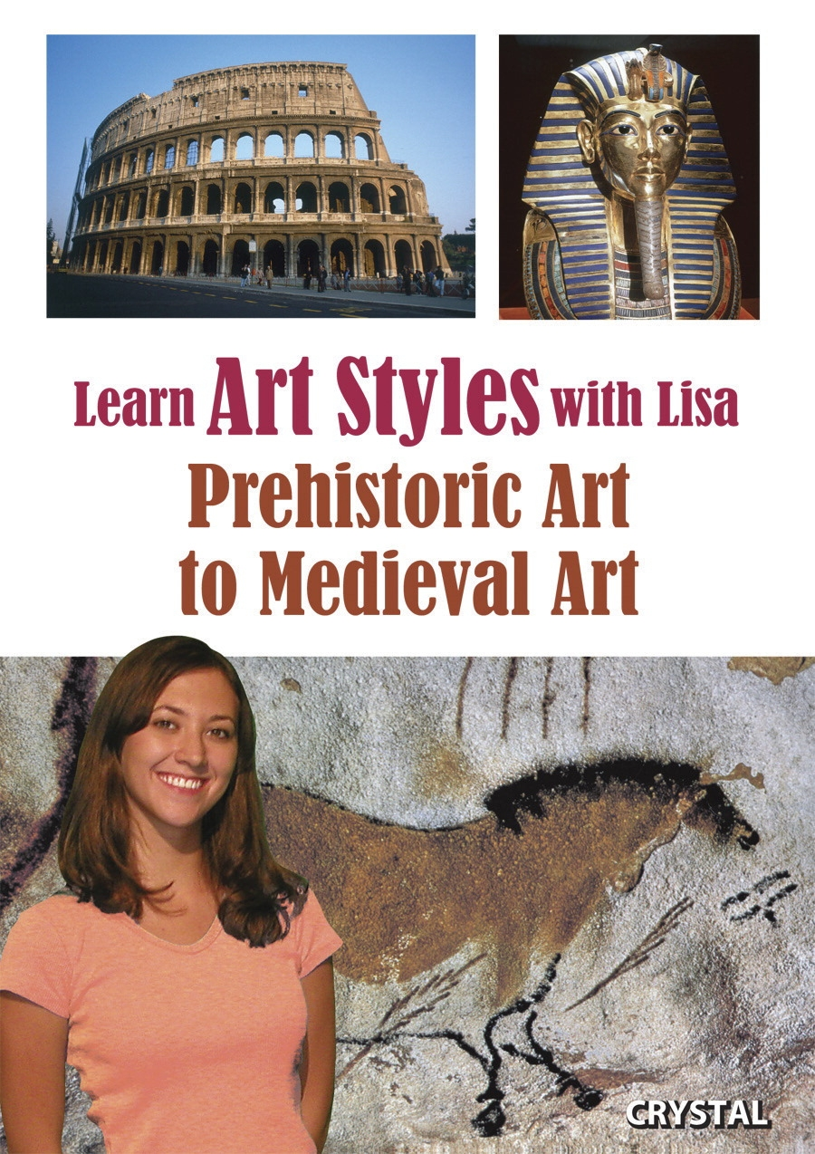 Physical Education Instructional Materials - 410037 - Crystal Productions Learn Art Styles With Lisa Dvd; Prehistoric To Medieval Art 410037