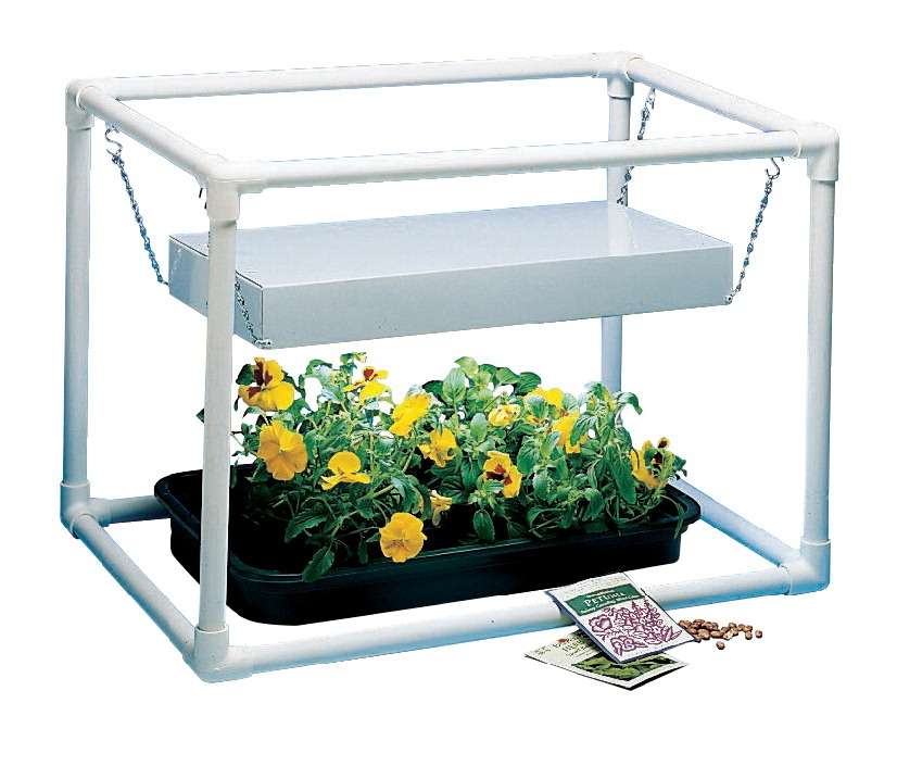 Learning: Science Biology Resources & Supplies Botany & Gardening Supplies - 110-3739 - Delta Education E-z Garden Kit; 16-1/2 X 16-1/2 X 23 In; Grade K-12 110-3739