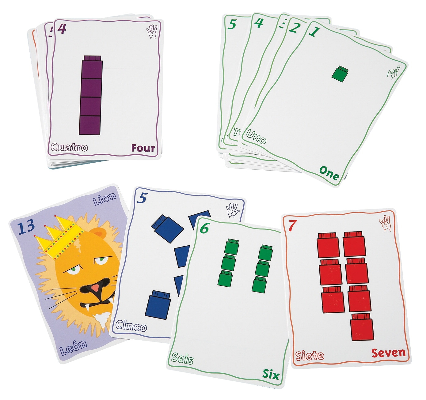 Didax Newmark Learning Unifix Playing Card Set - 1474654 - Toys Manipulatives 1474654
