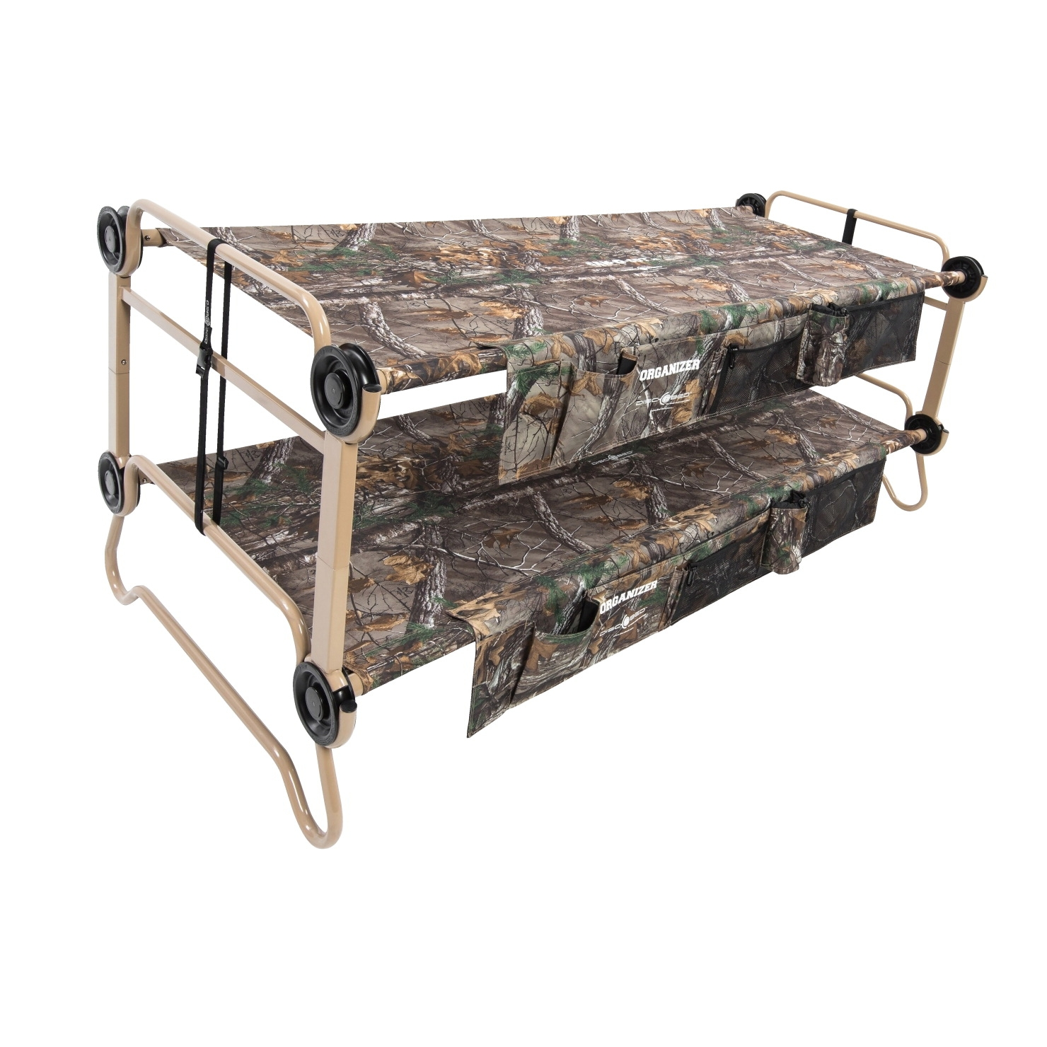 Disc-o-bed Large Cam-o-bunk With 2 Organizers; Realtree Xtra Camouflage - 1527319 - Games Sports Outdoors Themed Cornhole Bags 1527319