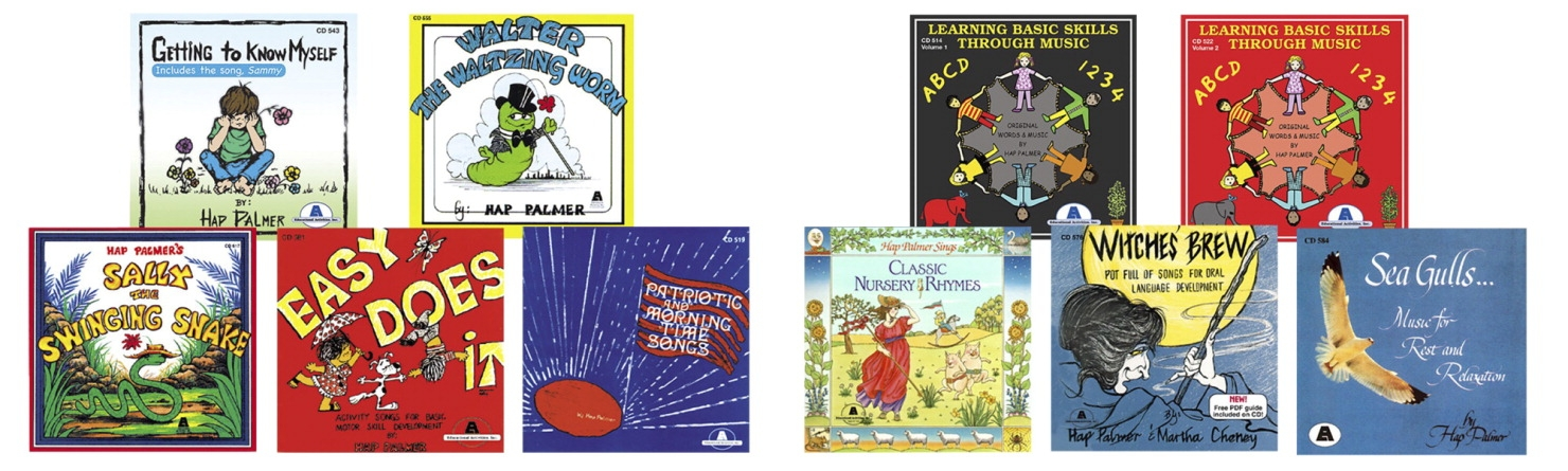Educational Activities Best Loved Hap Palmer Complete Cd Collection; Set Of 10 - 1531308 - Toys Books & Cds 1531308