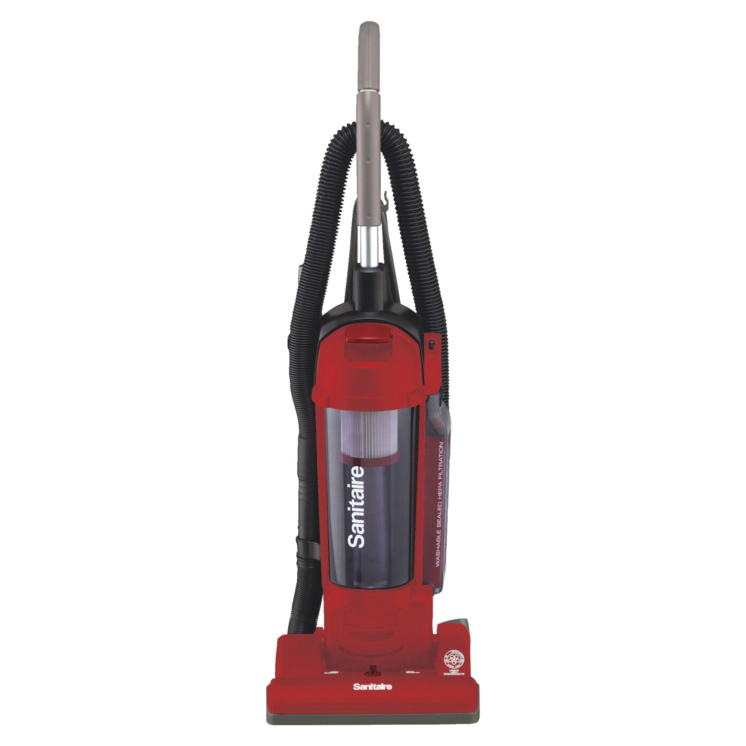 Electrolux Sanitaire Hepa Upright Vacuum; 3.5 Qt; 42-1/2 X 13 X 12-1/2 In; Red - 1534999 - Facilities Management Facility Supplies Machines Appliances Kitchen Appliances 1534999