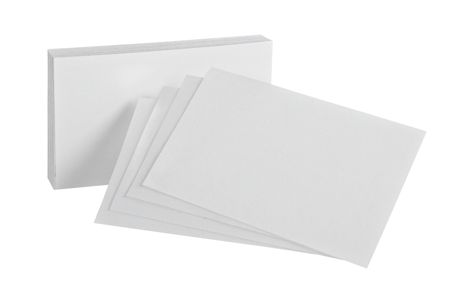 Esselte Pendaflex Oxford Blank Index Card; 4 X 6 In; White; Pack Of 100 - 1443129 - Facilities Management Dog Products Feeding Supplies 1443129