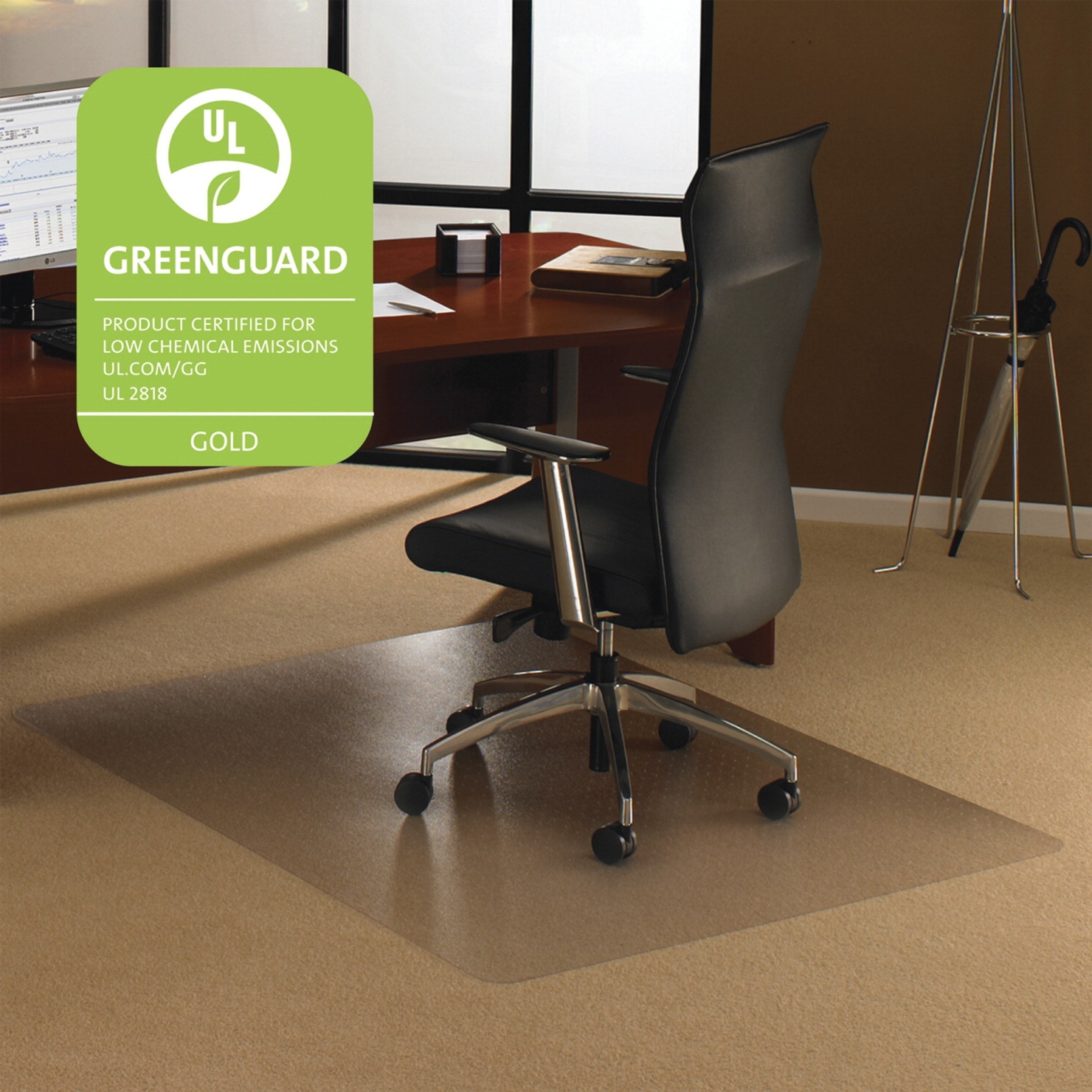 Floortex Carpet Chairmat; Clear; 48 L X 53 W In; 0.11 In Thickness - 1330934 - Facilities Management Bar Stool Set Table Chair Metal State Logo Chairs Wood Metal Chairs 1330934
