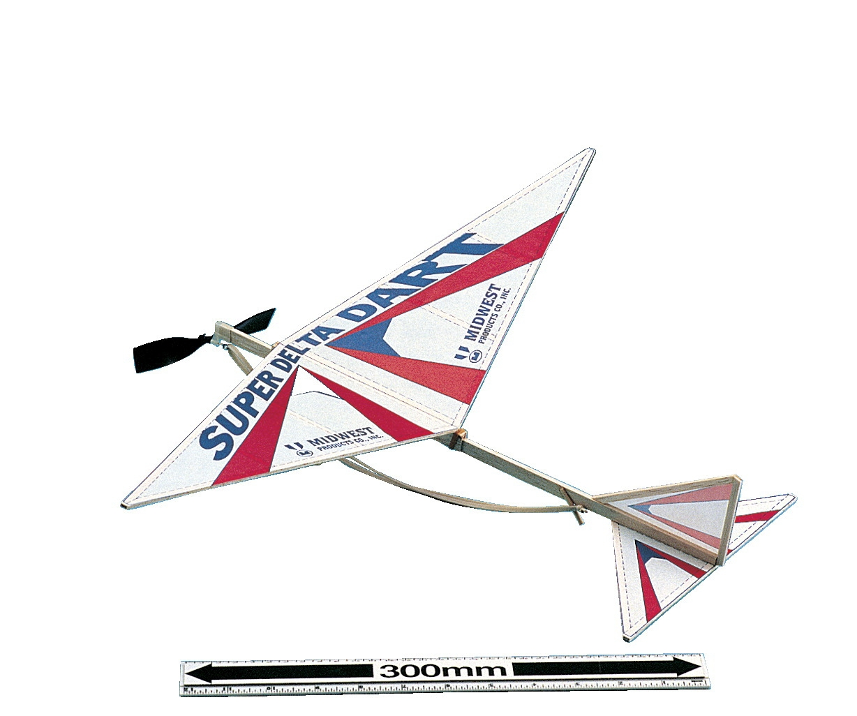Frey Scientific Super Delta Dart Kit - 592590 - Instructional Materials Resources Science Activities Equipment Physical Science Projects Books 592590