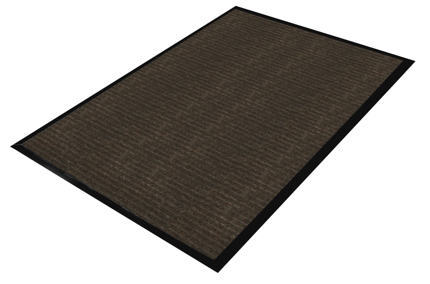 Genuine Joe Golden Series Dual Rib Indoor Floor Mat; 3 X 5 In; Polypropylene/vinyl Backing; Chocolate - 1405226 - Martial Arts Martial Arts Floors Mats 1405226