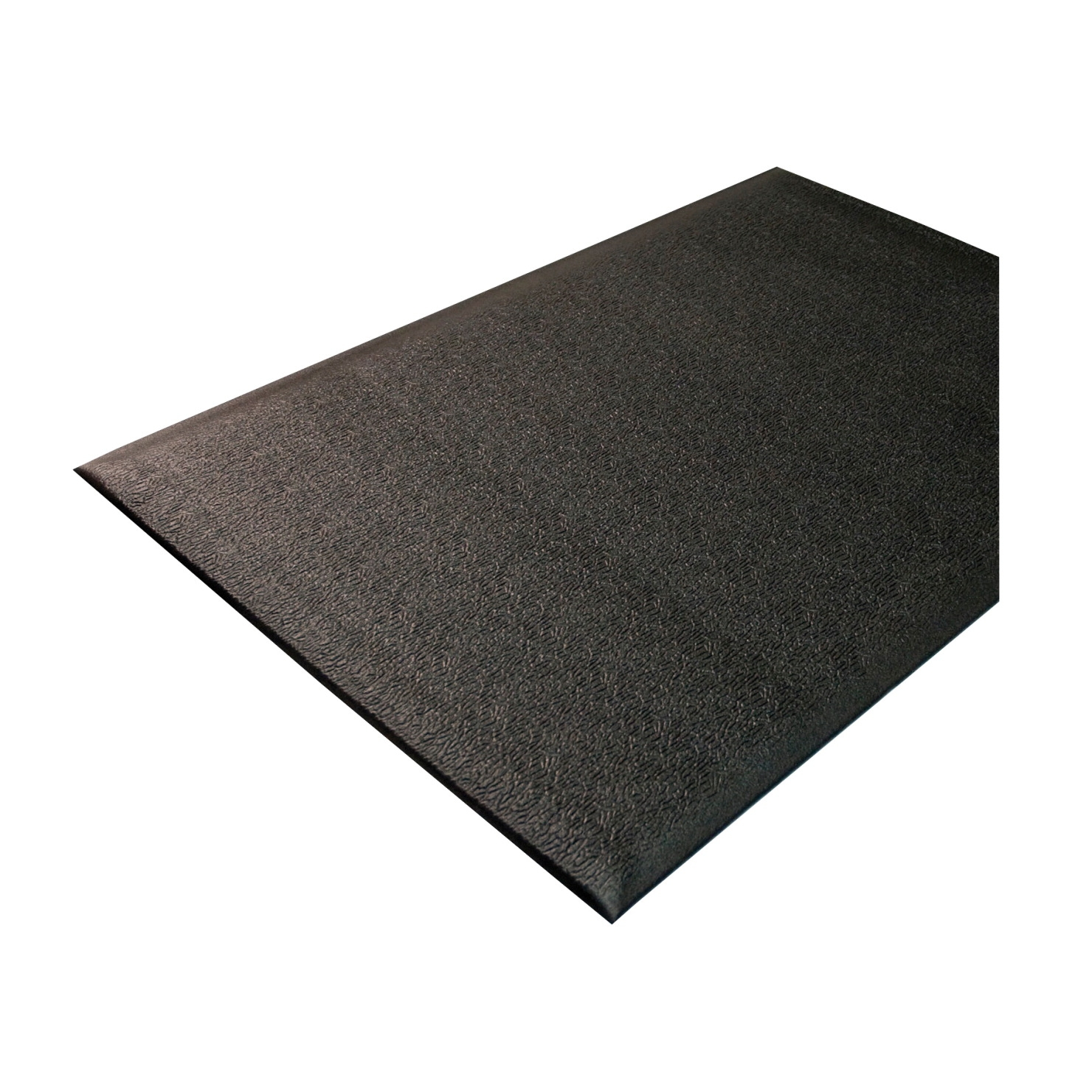 Genuine Joe Soft Step Anti-fatigue Mat; 3 X 10 Ft; 3/8 In Thickness; Nitrile Rubber/vinyl; Black - 1310535 - Baseball And Softball Baseball Pitching Rubbers 1310535