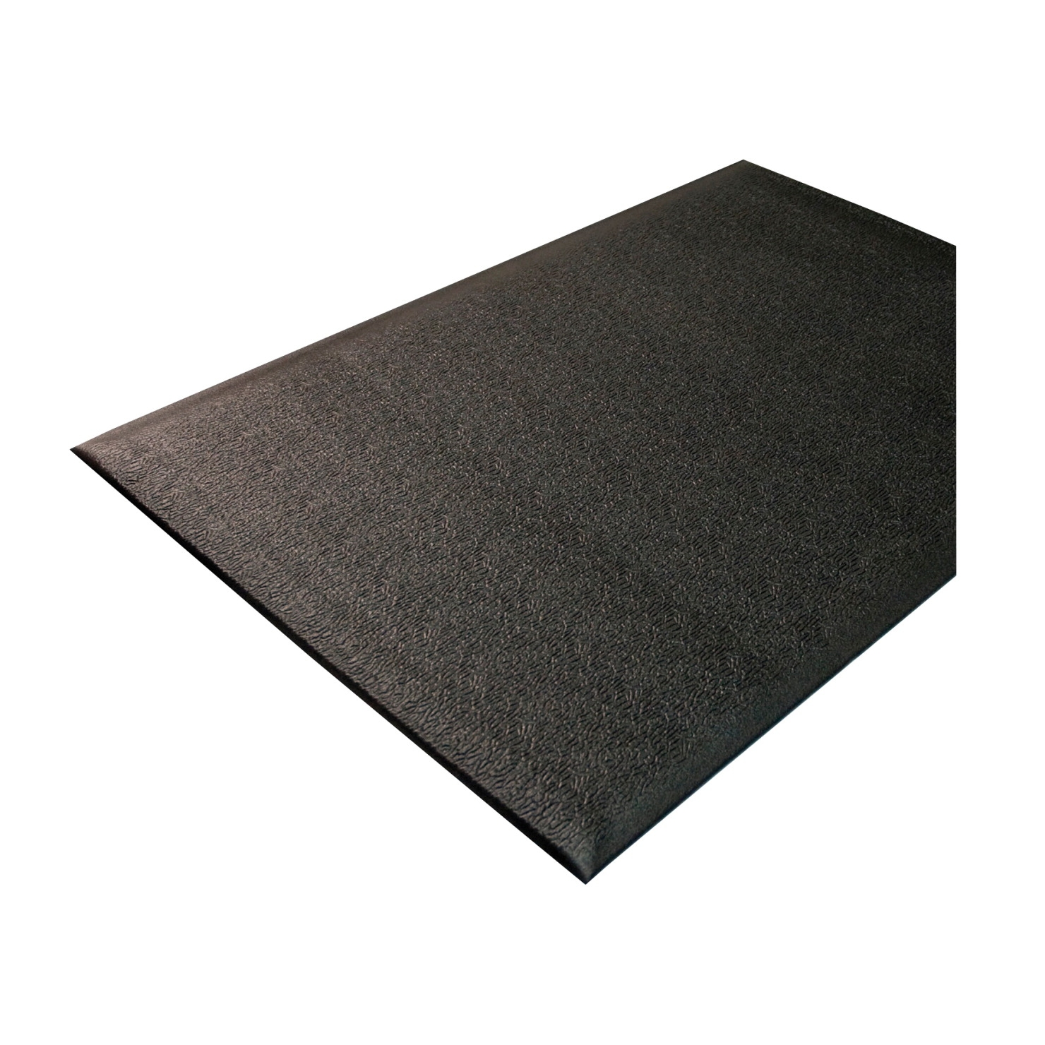 Genuine Joe Soft Step Anti-fatigue Mat; 3 X 5 Ft; 3/8 In Thickness; Nitrile Rubber/vinyl; Black - 1310536 - Baseball And Softball Baseball Pitching Rubbers 1310536