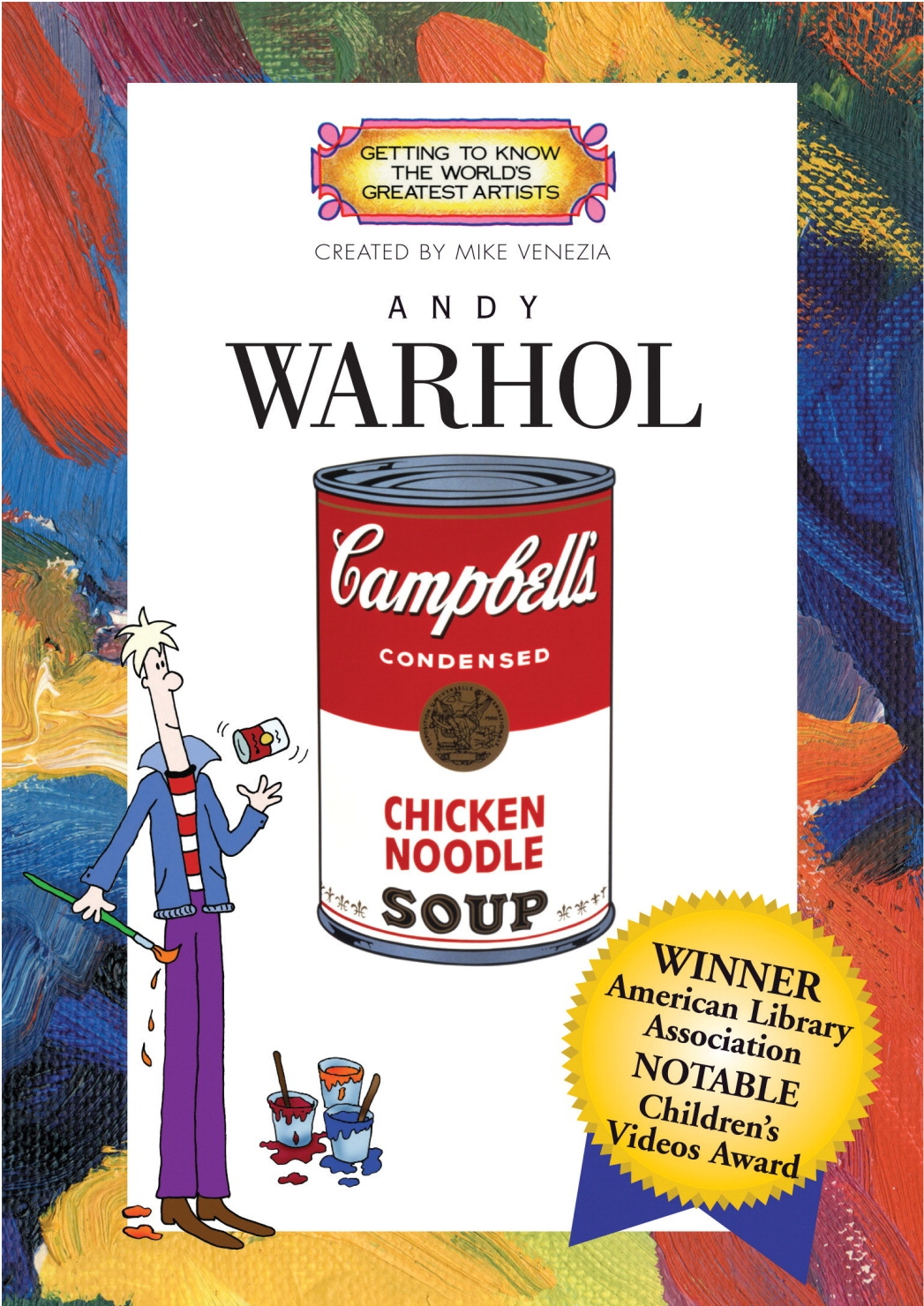 Hockey Dvds And Videos Practice Dvd - 411306 - Getting To Know World's Greatest Artists-andy Warhol Dvd; 24 Min; Grade 2 411306