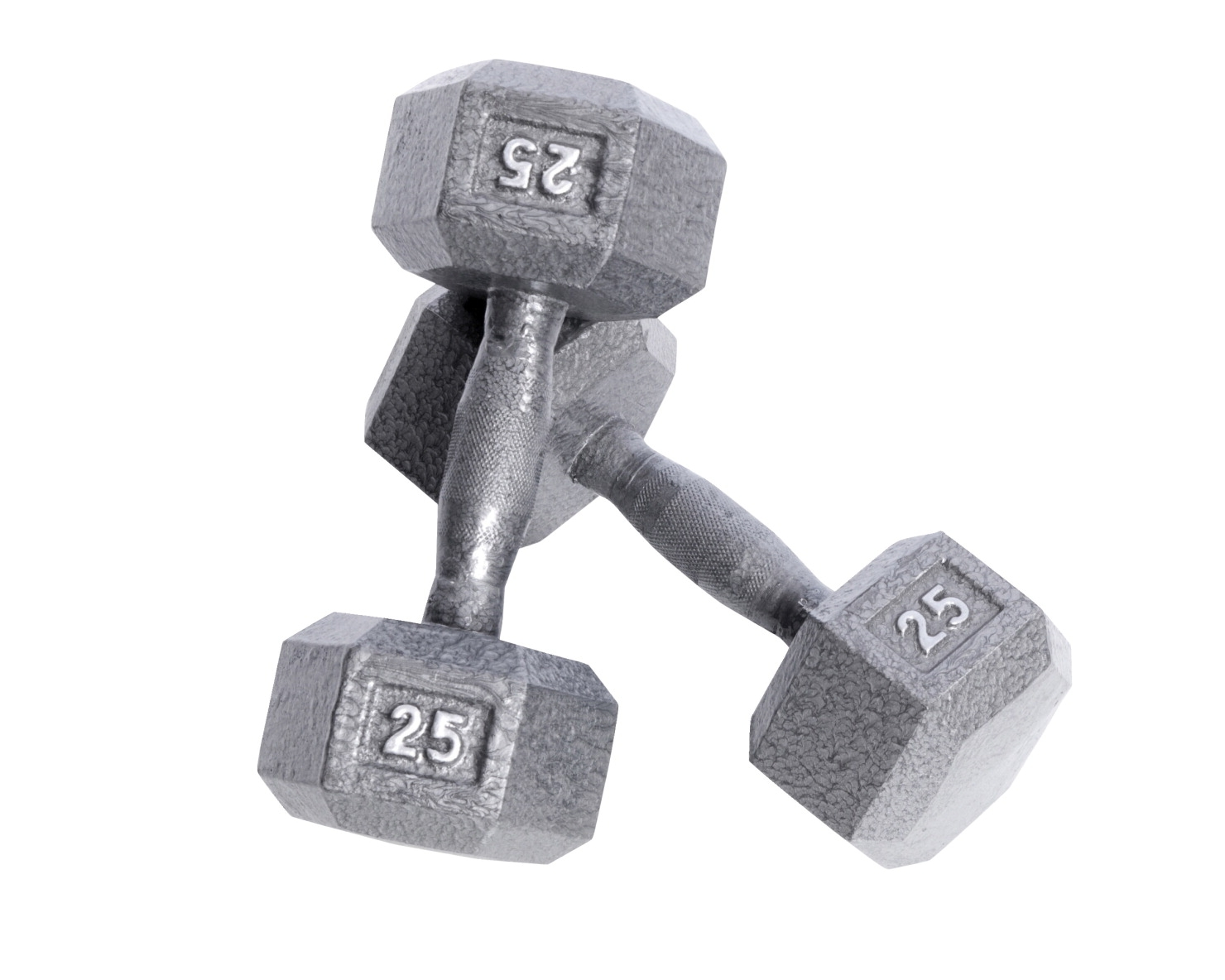 Hampton 2 Lb. Dumbbell; Set Of 2 - 1507414 - Fitness Dumbbells Pro Hexhead Dumbbells 1507414