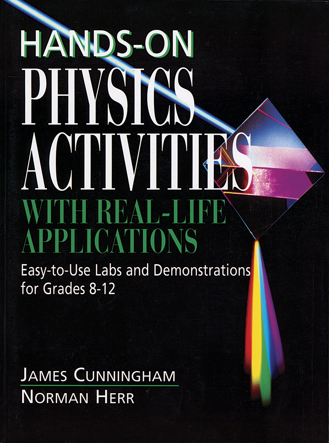 Hands-on Physics Activities Book - 532044 - Instructional Materials Resources Science Activities Equipment Physical Science Projects Books 532044