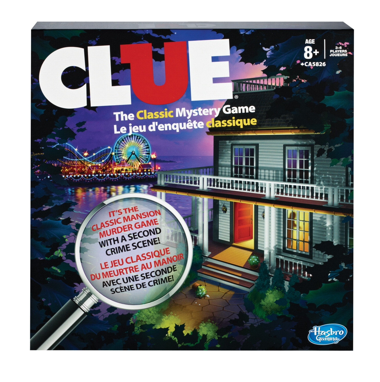 Toys Educational Toys Science & Exploration Sets - 224003 - Hasbro Classic Clue Mystery Game 224003