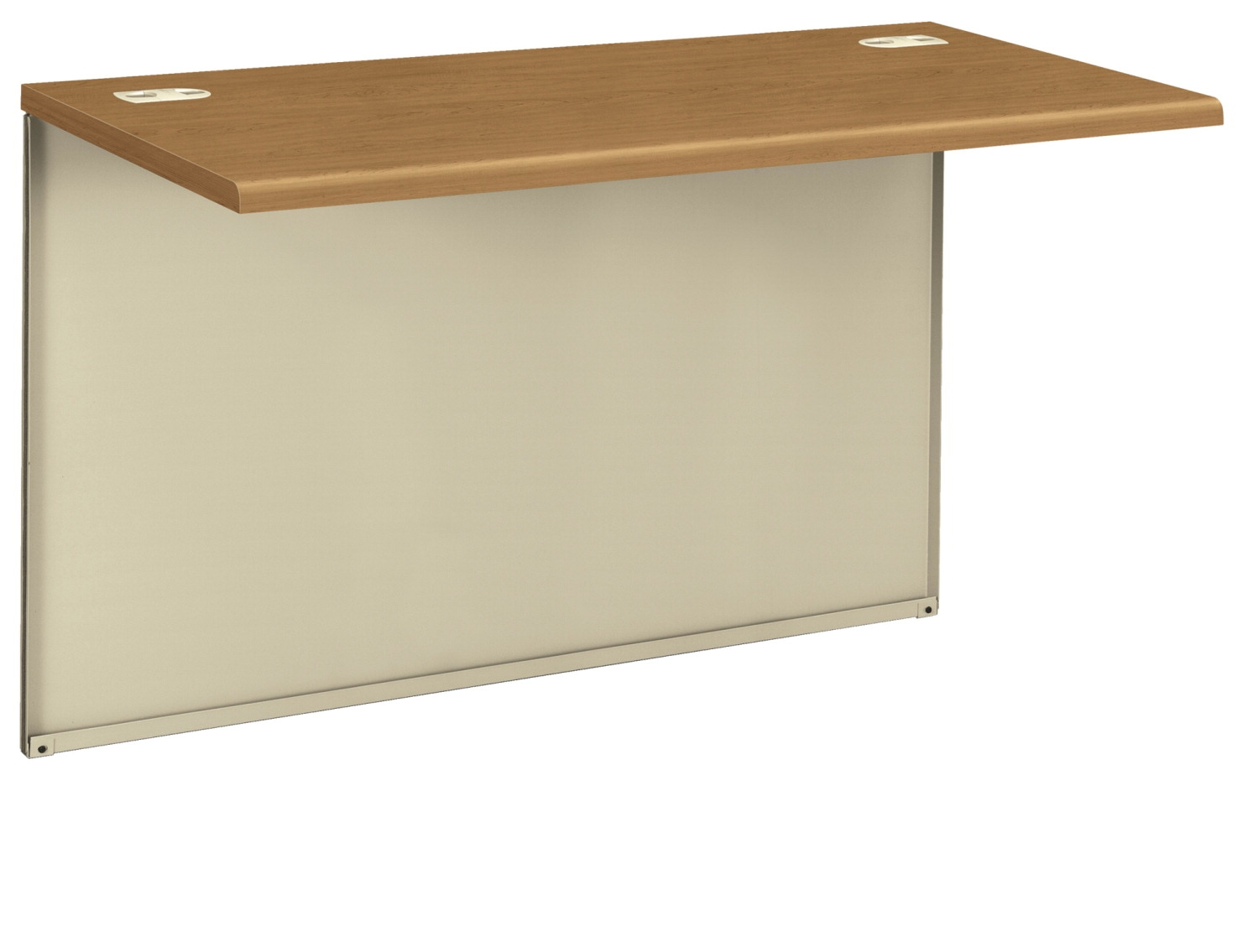 Hon 38000 Series Modular Desk; Bridge; 48 X 24 X 29-1/2 In; Harvest/putty - 1504646 - Tennis Strings Tour Series 1504646