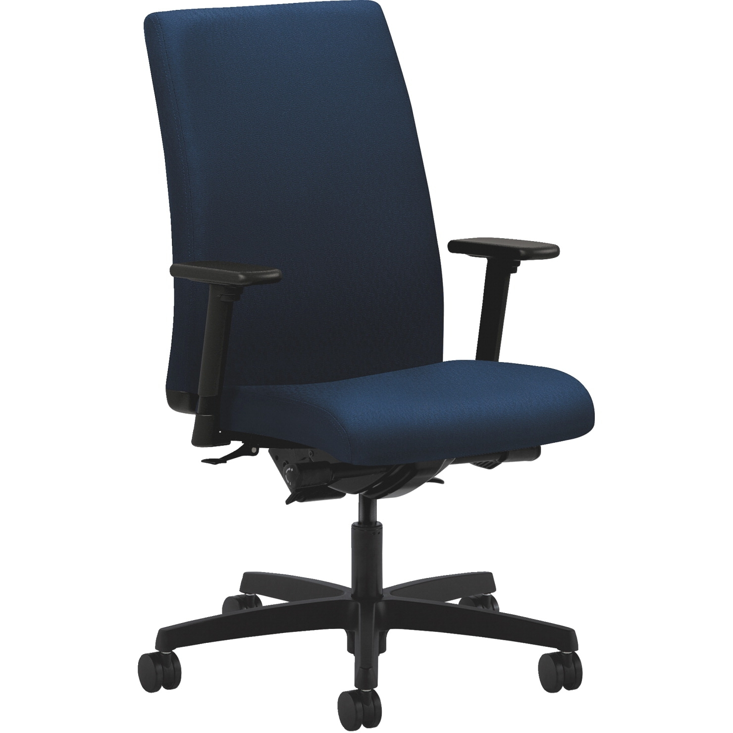 Hon Ignition Executive Chair; 27 X 39 X 44 Inches; Mariner - 1331114 - Facilities Management Bar Stool Set Table Chair Metal State Logo Chairs Wood Metal Chairs 1331114