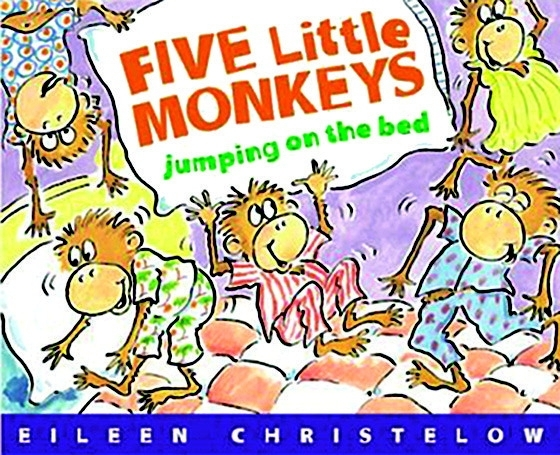 Houghton Mifflin Harcourt Five Little Monkeys Jumping On The Bed; Big Book - 205812 - Facilities Management Steeplechase Water Jump Forms 205812