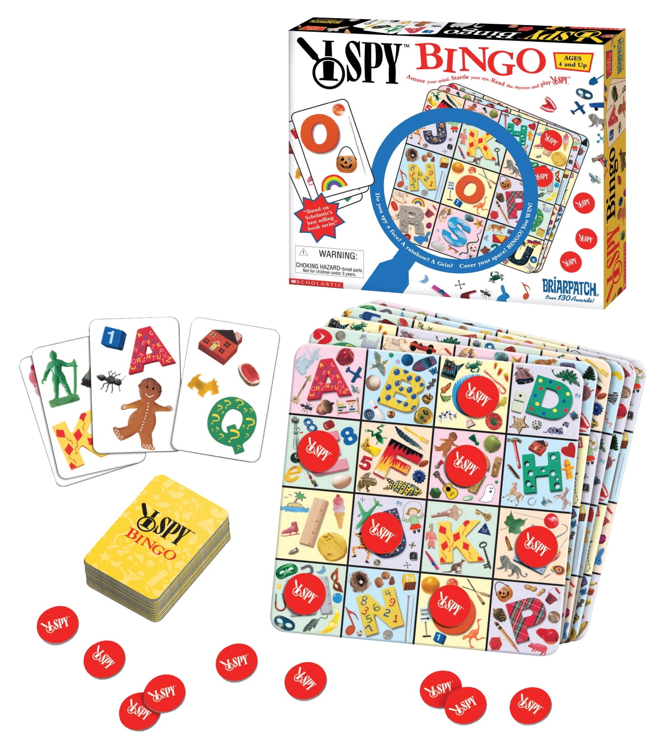 Toys Activity Toys Ball & Cup Games - 077486 - Ispy Bingo Game 077486