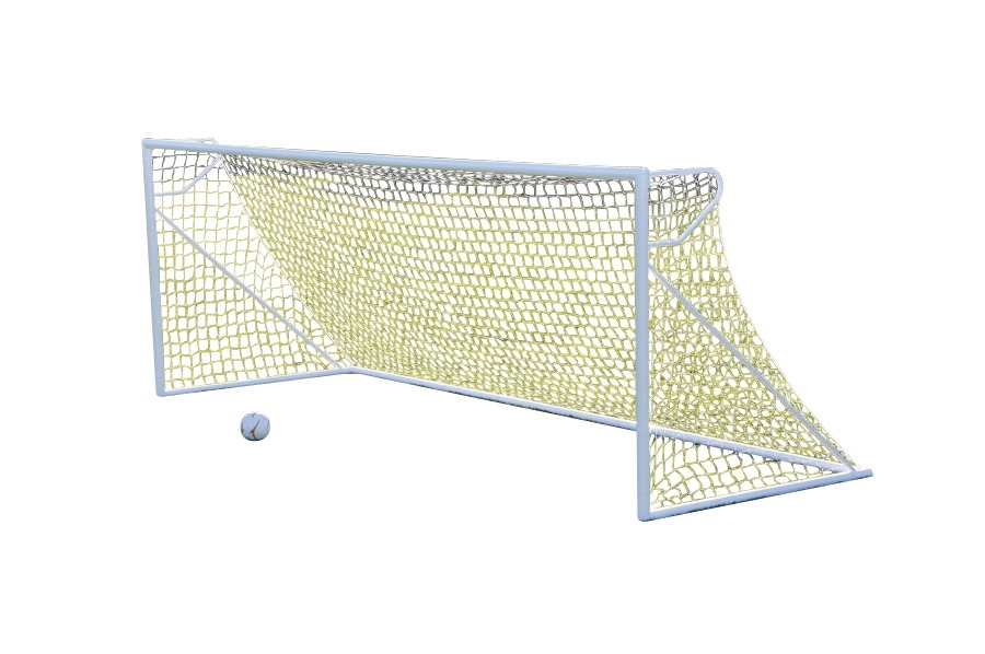 Jaypro Nova Club 4 Ft 6 In X 9 Ft Round Soccer Goal With Net; Pack Of 2 - 1404542 - Soccer Soccer Goals Club Soccer Goals 1404542