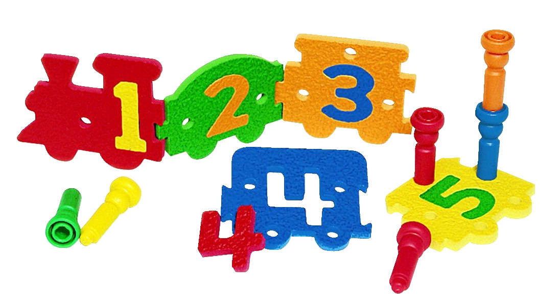Lauri Tall Stacker Number Express Puzzle - 1432973 - Toys Manipulatives 1432973