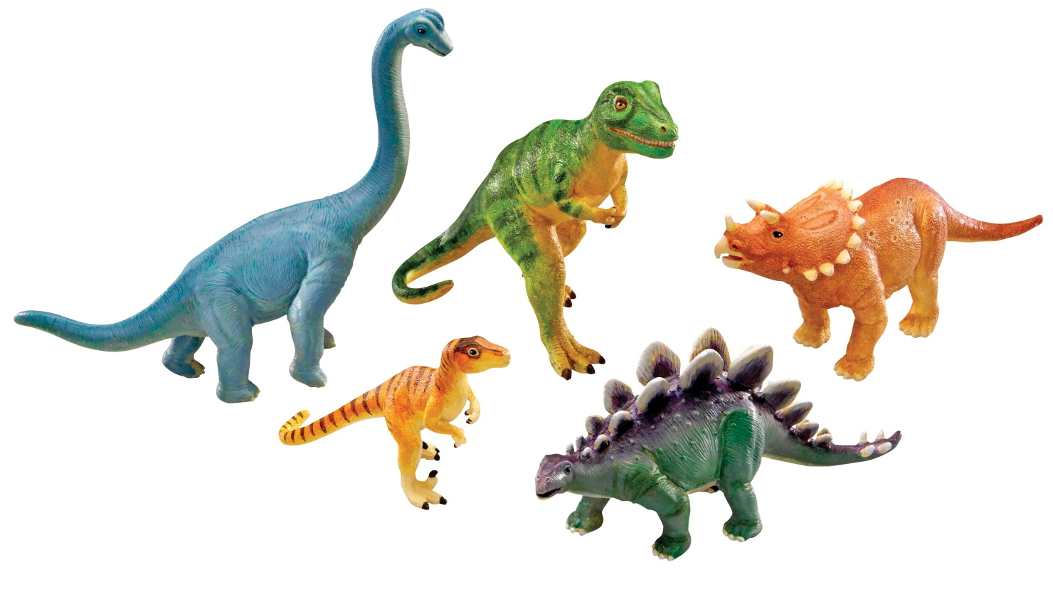 Toys Puzzles - 1290860 - Learning Resources Assorted Jumbo Dinosaurs; Set Of 5 1290860