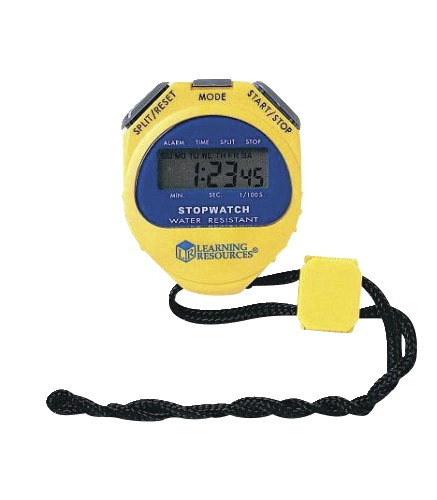 Physical Education Pe Curriculum & Activity Based Learning - 347402 - Learning Resources Big-digit Stopwatch 347402