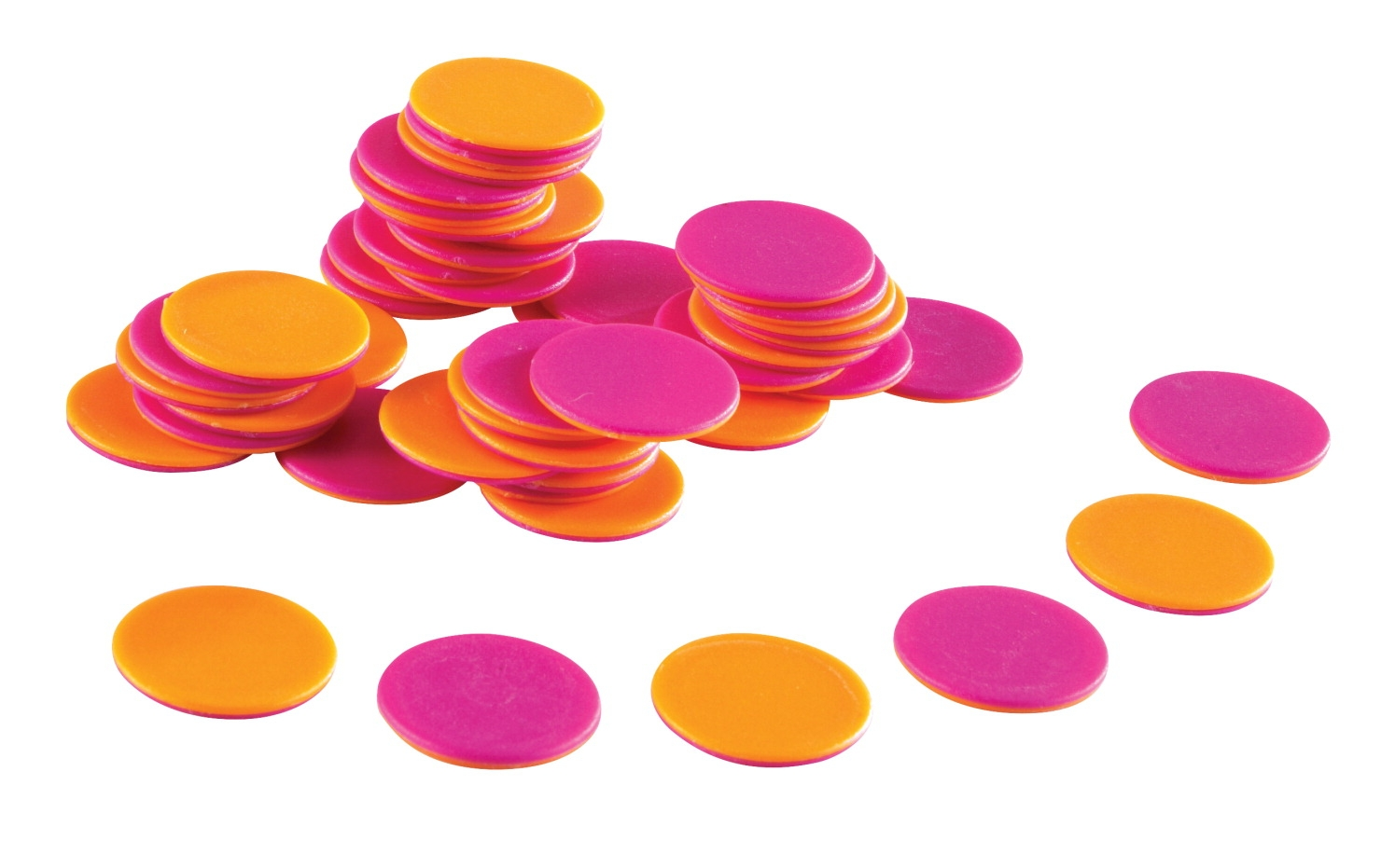 Toys Math Counters - 1499101 - Learning Resources Bright Counters; 2 Colors; Set Of 200 1499101