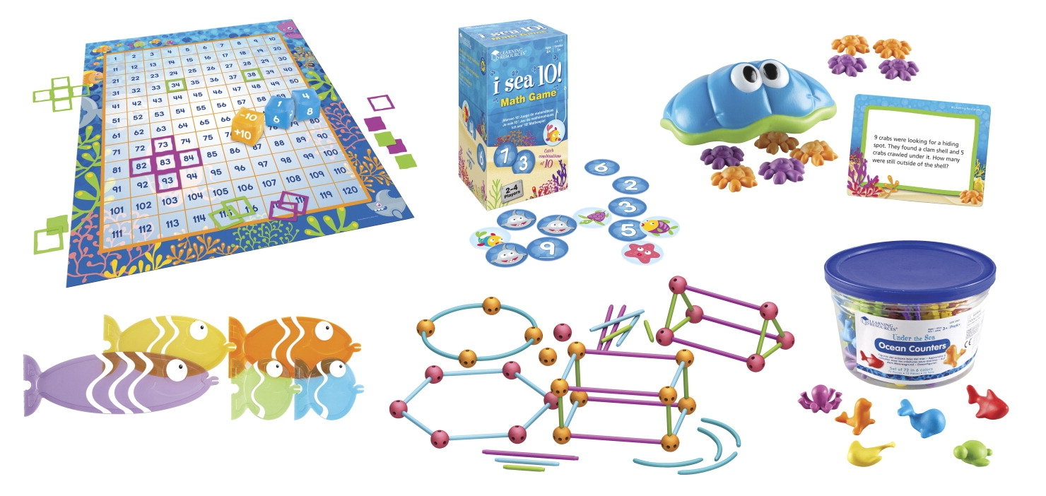 Learning Resources Common Core Under The Sea Kit; First Grade Bundle - 1465347 - Toys Educational Toys Bug Collecting Kits 1465347