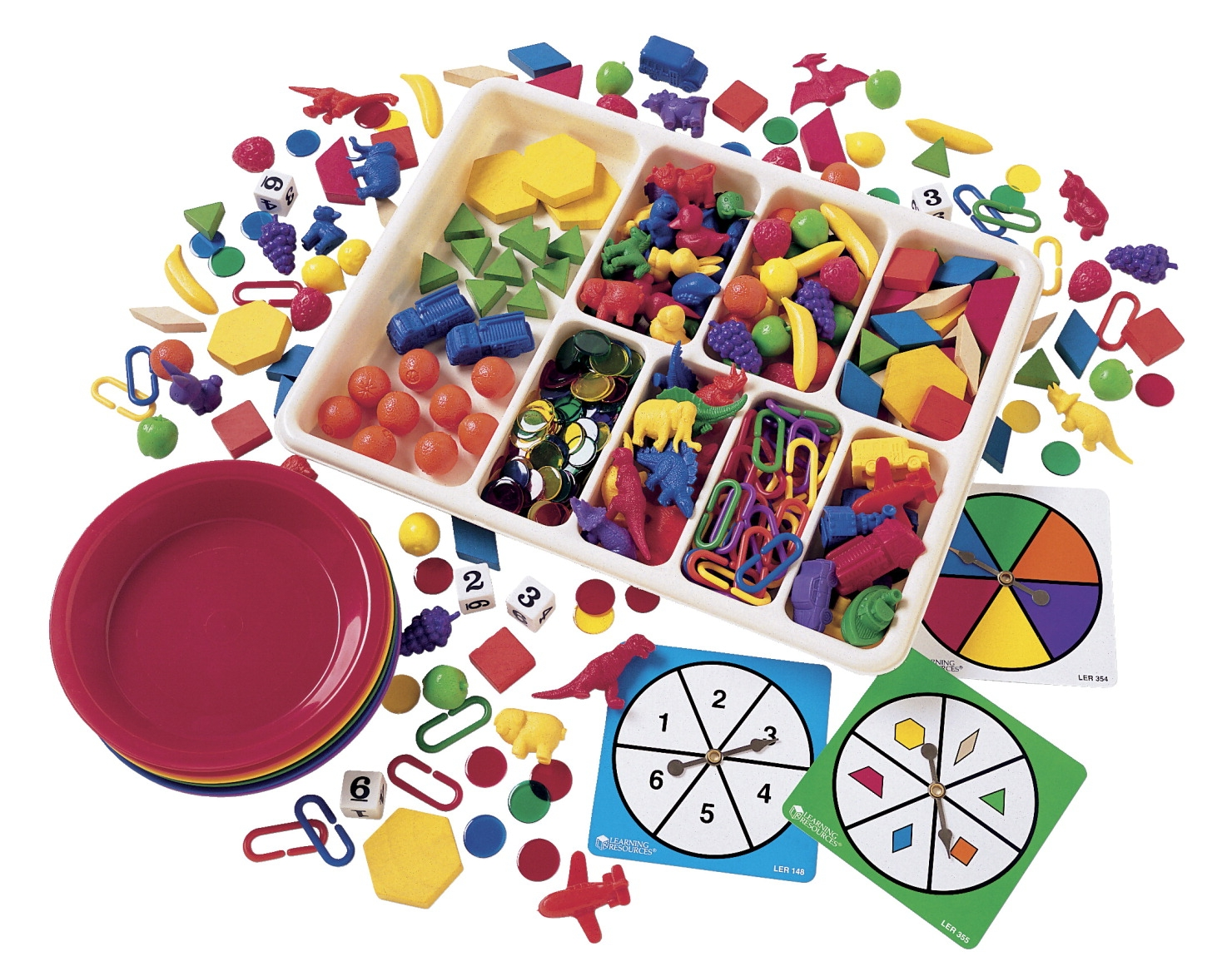 Facilities Management Message Activity Boards - 347126 - Learning Resources Deluxe Sorting Set With Activity Cards 347126