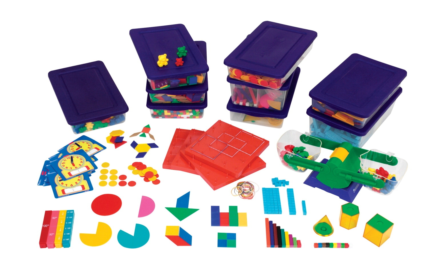 Learning Resources Manipulatives Kit Standards Handbook; Grades 3 To 4 - 087692 - Instructional Materials Resources Science Activities Equipment Physical Science Projects Books 087692