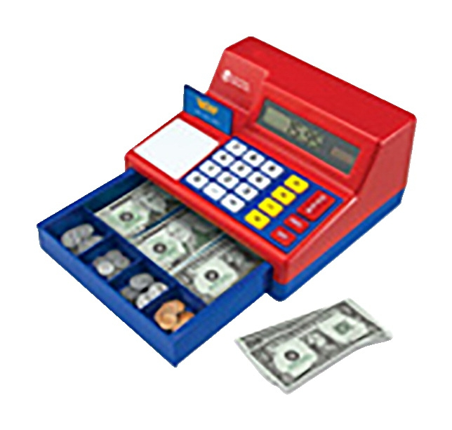 Learning Resources Pretend And Play Calculator Cash Register - 238808 - Facilities Management Table Cloth Tire Cover Lighting Tire Covers Black And White Plain Tire Covers 238808