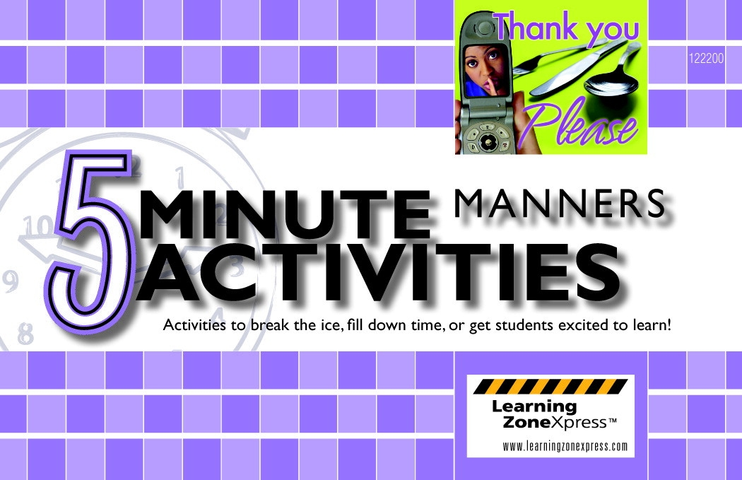 Toys Hands On Math Activities - 1371462 - Learning  Press 5 Minute Manners Activities 1371462
