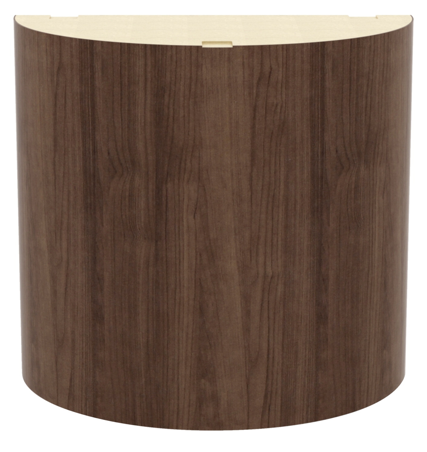 Lorell Prominence Conference Curved Base; 28-1/2 X 28-1/2 X 28 Inches; Walnut - 1575077 - Games Game Tables Pool Tables 1575077