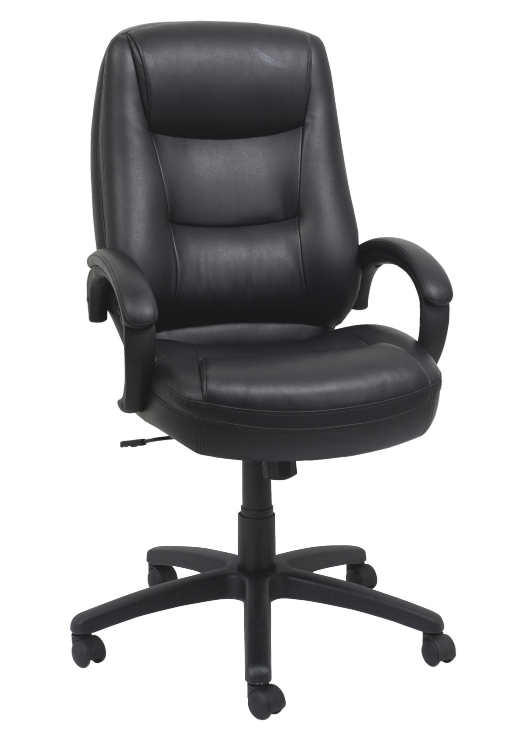 Lorell Westlake Series Executive High-back Chairs; 26-1/2 X 28-1/2 X 47-1/2 In; Black - 1505821 - Facilities Management Bar Stool Set Table Chair Metal State Logo Chairs Wood Metal Chairs 1505821
