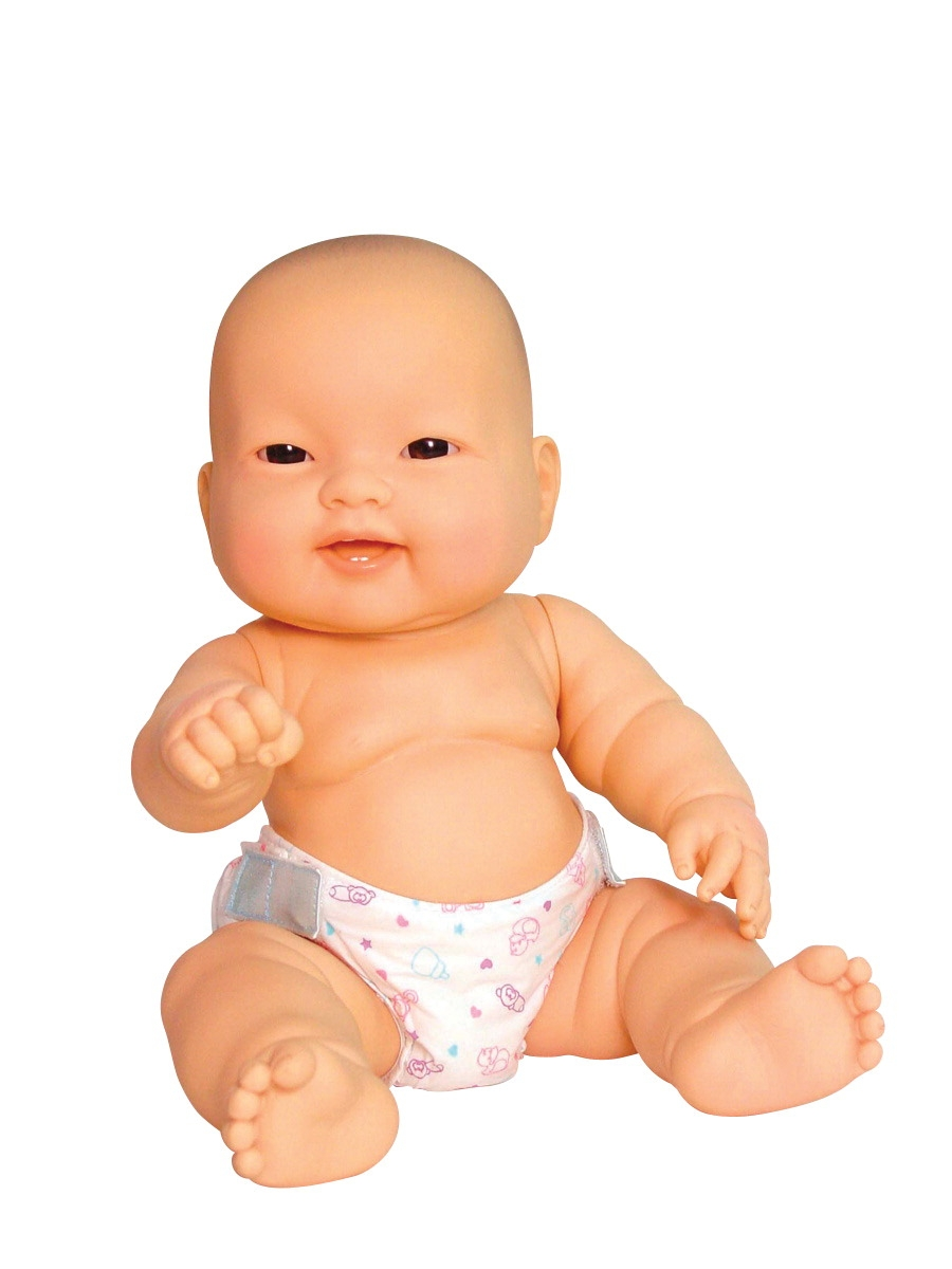 Toys Dolls Playsets & Toy Figures Doll & Action Figure Accessories - 1302318 - Lots To Love Doll Baby; 14 Inches; Various Doll Styles; Asian 1302318