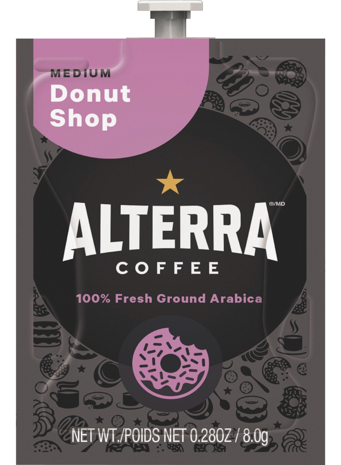Mars Drinks Alterra Donut Shop Blend Coffee; Med/balanced; Pack Of 100 - 1565263 - Baseball And Softball Baseball Glove Value Packs 1565263