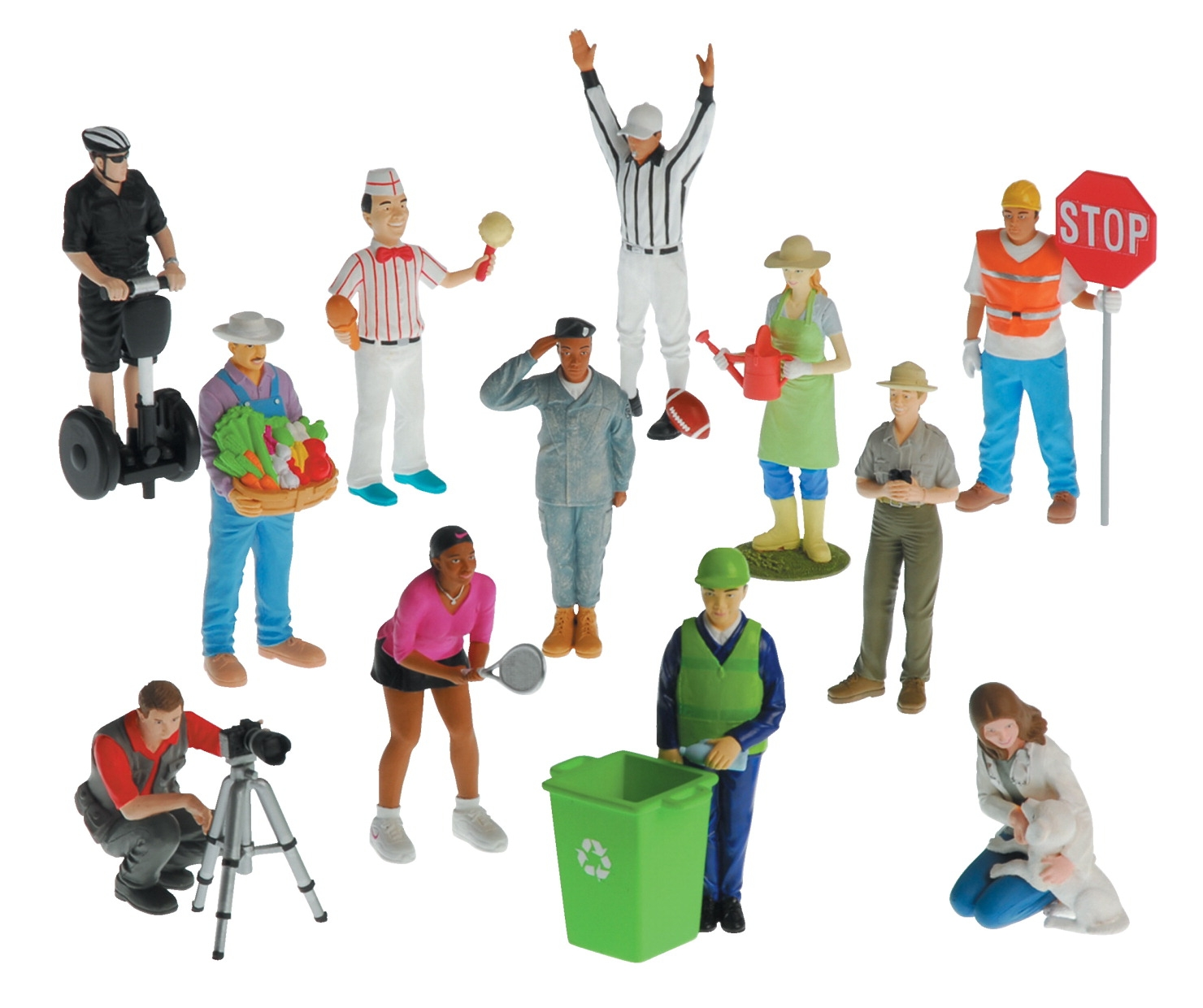 Marvel Education Career Figures; Set Of 12 - 1531973 - Toys Dolls Playsets & Toy Figures Puppet Theaters 1531973