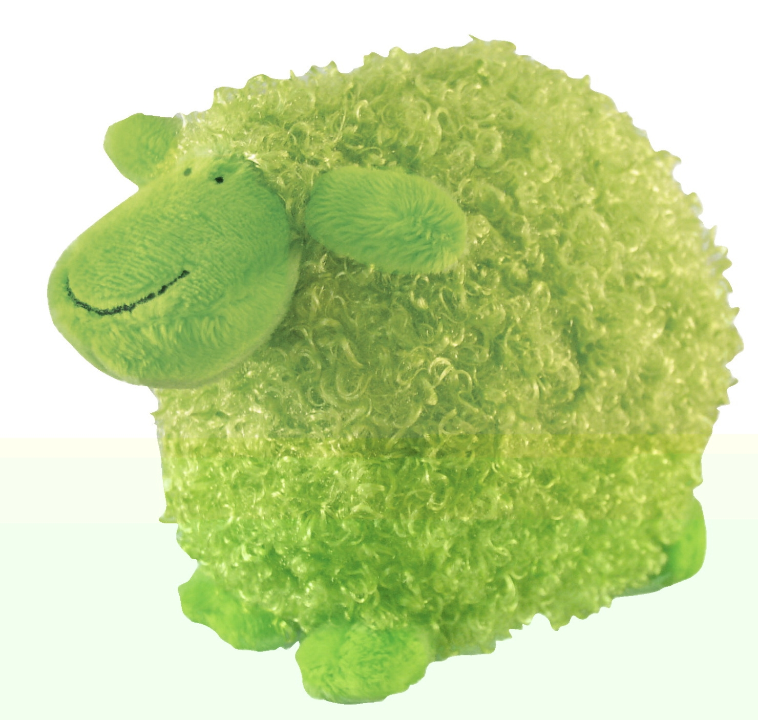 Merrymakers Green Sheep Doll - 1433075 - Games Games Books 1433075