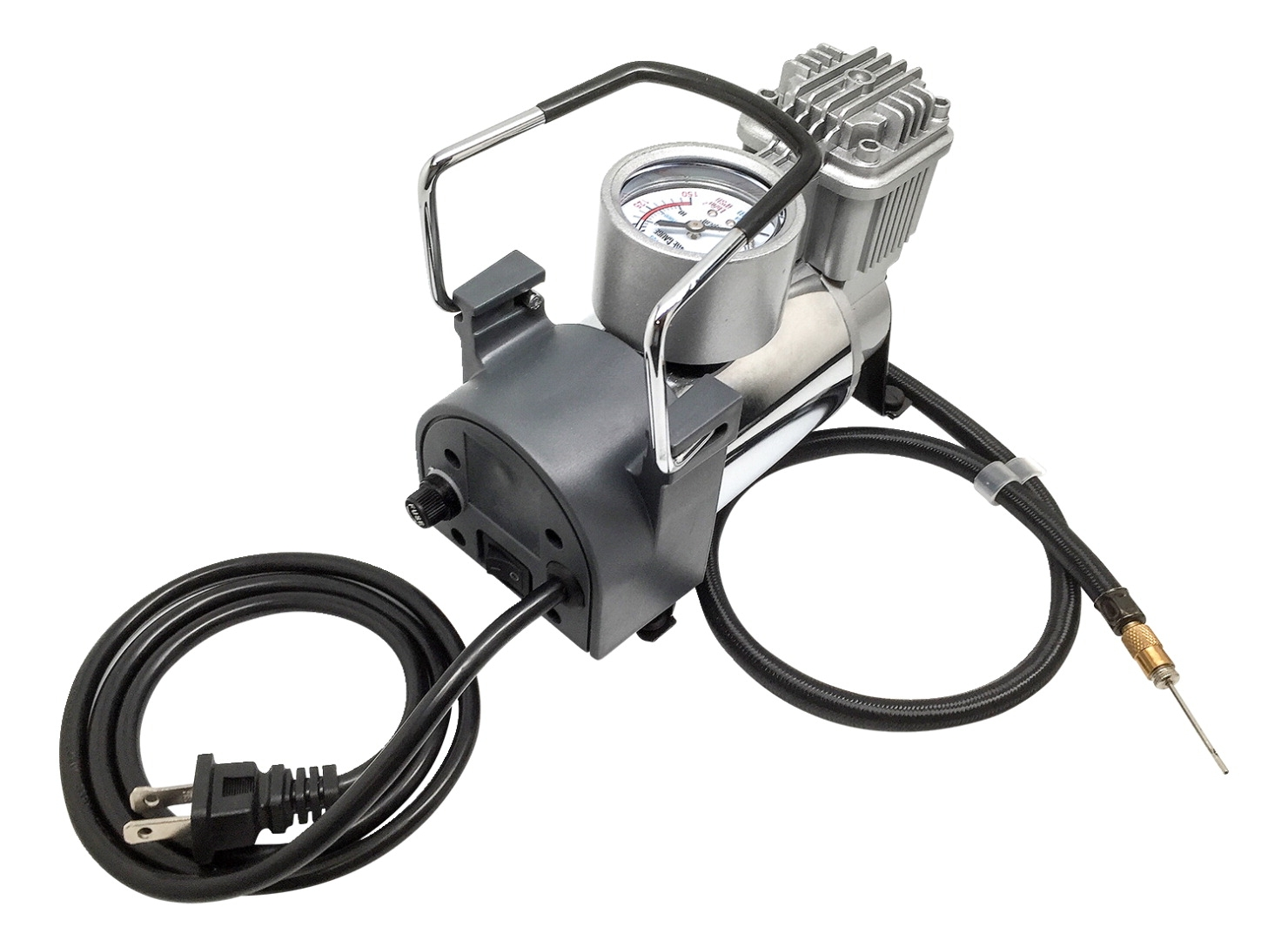 Mikasa M80 Electric Air Inflator; 110v/60hz Ac; 1/8 Hp; 40 Psi; Steel - 1507822 - Coaching Inflators 1507822